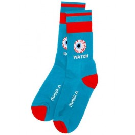 Socks - Keep Watch - Blue