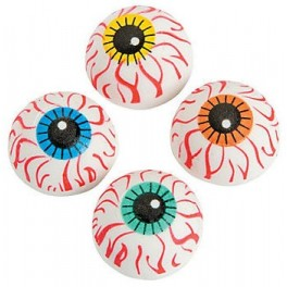 Erasers - Dome Eyeballs (pack of 12)