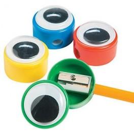 Googly Eye Pencil Sharpeners (pack of 6)