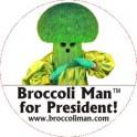 Magnet - Broccoli Man for President
