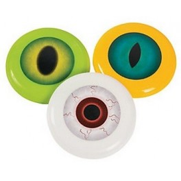 Spooky Eyeball Mini Flying Discs (12 pack)
