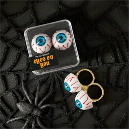 Ring - Eyes On You Two Finger Ring in Gift Box