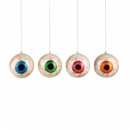 Pearlized Eyeball Ornament (set of 4)