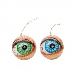 Eye See You Ball Ornament (set of 2)