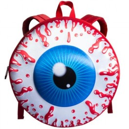Backpack with giant eyeball