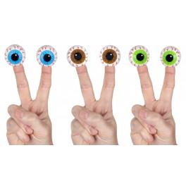 Eyeball Finger Puppets (set of 6)