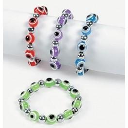 Bracelets - Beaded Eyeball